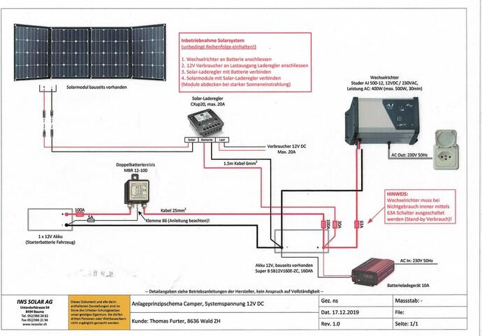 Schaltschema Elektronik