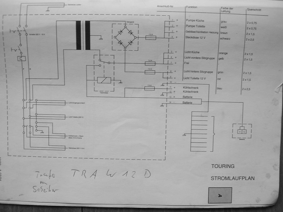 Nett Wohnwagen Schaltplan Ideen - Schaltplan Serie Circuit ...