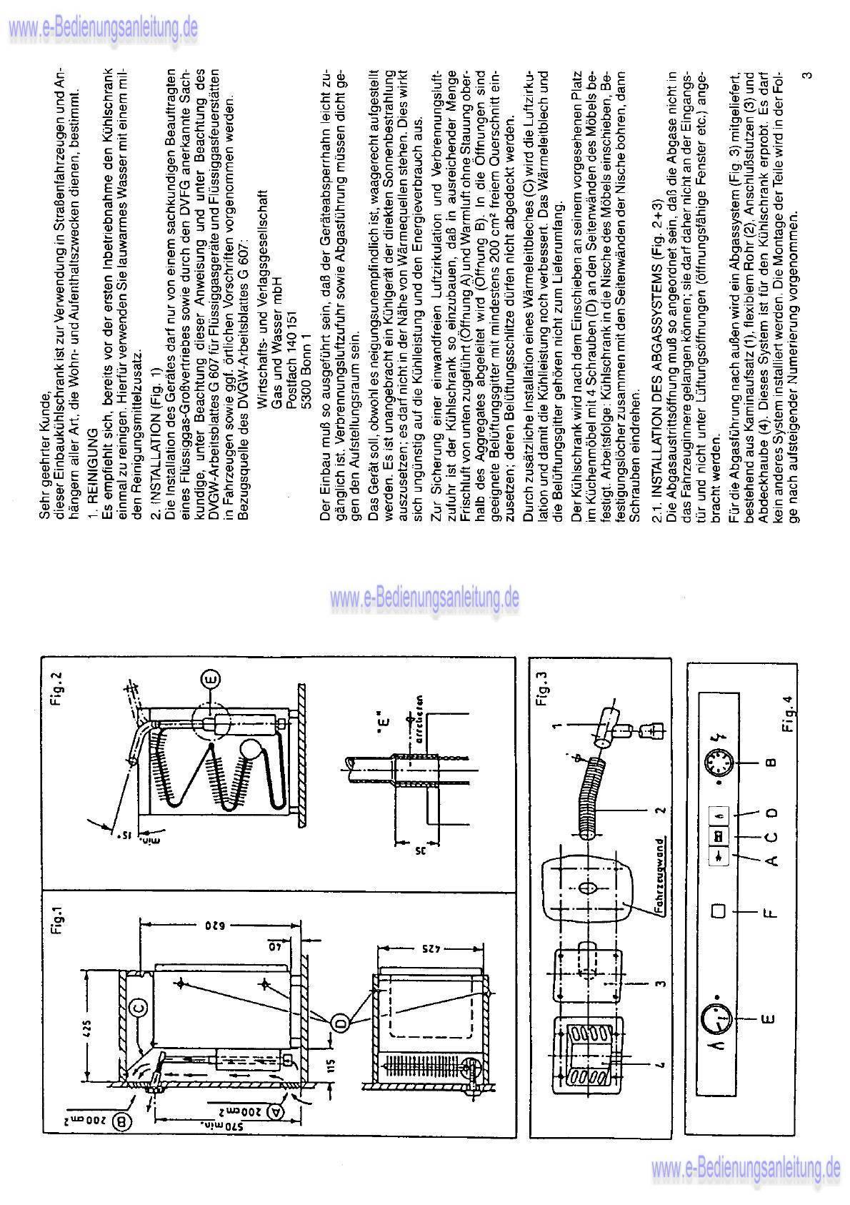 T2 Kühlschrank Gas-->Elektrobetrieb - Camping - VWBUSFORUM.CH