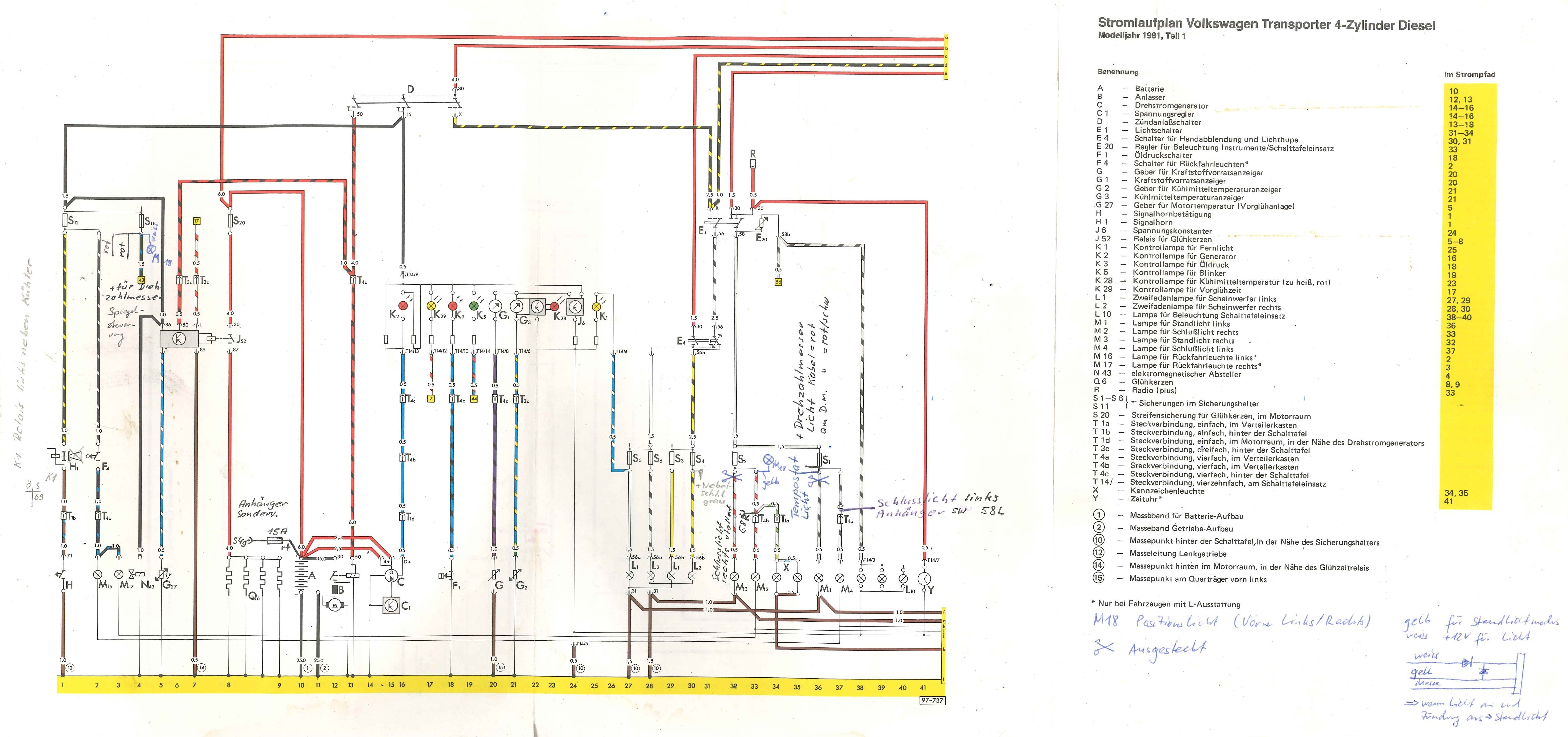 Vw T3 Zweitbatterie Schaltplan