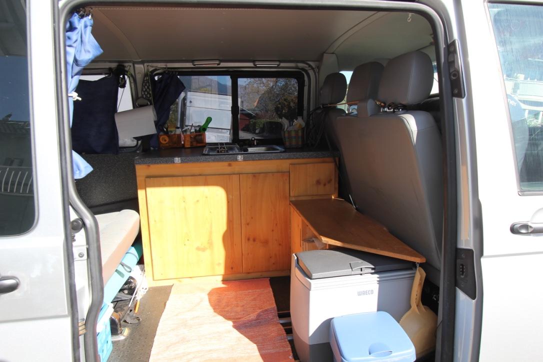 einzigartiger innenausbau f r t5 langer radstand biete. Black Bedroom Furniture Sets. Home Design Ideas
